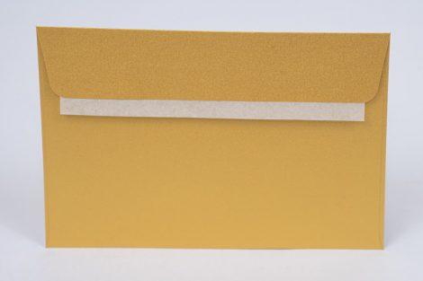 "Boríték Curious Metal LC/6 szilikonos 120 gr  Super gold ""10"" (Metal arany) 25 db/csg"