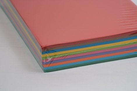 Másolópapír Kaskad A/4 80gr 10x50ív Élénk MIX 500ív/csg
