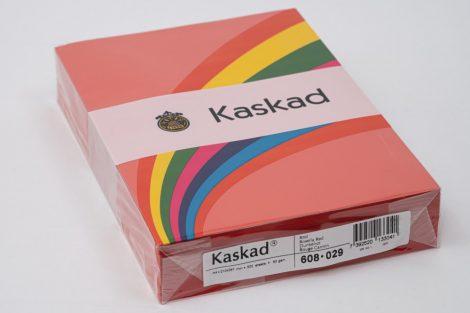 "Másolópapír Kaskad A/4 80g ""29"" vörös 500ív/csg"