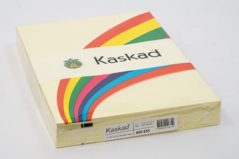 "Másolópapír Kaskad A/3 80g ""55"" sárga 500ív/csg"