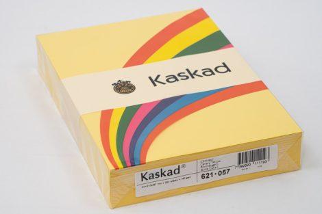 """Másolópapír Kaskad A/4 160g """"57"""" citrom sárga 250ív/csg"""