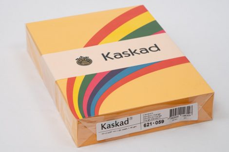 "Másolópapír Kaskad A/4 160g ""59"" mandarinsárga 250ív/csg"