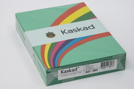 """Másolópapír Kaskad A/4 160g """"63"""" sötétzöld 250ív/csg"""