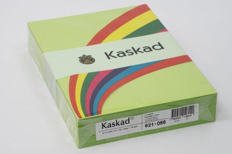 "Másolópapír Kaskad A/4 160g ""66"" lime zöld 250ív/csg"