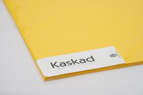 """Dekorációs Karton Kaskad 64x90 225g """"56"""" repcesárga 100ív/csg"""