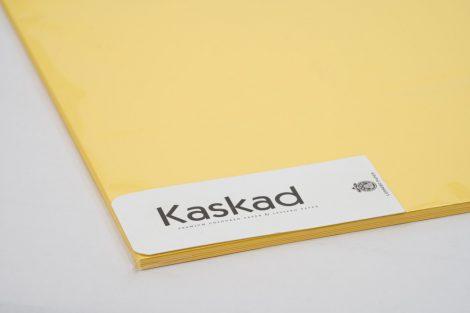 """Dekorációs Karton Kaskad 64x90 225g """"57"""" citromsárga 100ív/csg"""