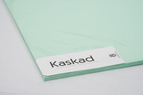 """Dekorációs Karton Kaskad 45x64 225g """"65"""" zöld 100ív/csg"""
