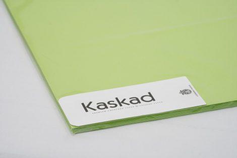 """Dekorációs Karton Kaskad 64x90 225g """"66"""" limezöld 100ív/csg"""