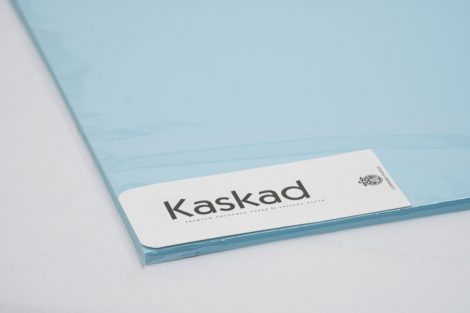 """Dekorációs Karton Kaskad 64x90 225g """"75"""" kék 100ív/csg"""
