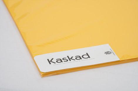 """Dekorációs Karton Kaskad 45x64 225g """"58"""" napsárga 25ív/csg"""