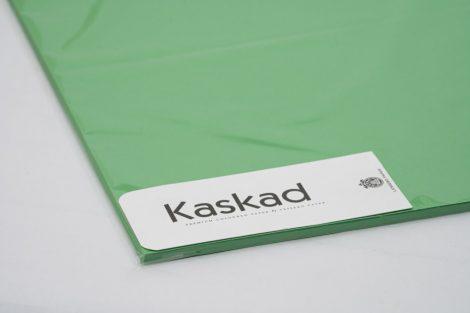 "Dekorációs Karton Kaskad 64x90 225g ""68"" smaragdzöld 100ív/csg"