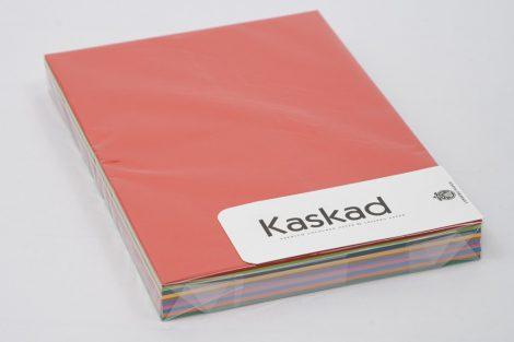 Karton Kaskad A/4 225gr/2m ÉLÉNK MIX 100ív/csg