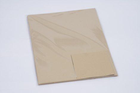 """Karton Curious Metál A/4 250gr Gold leaf """"47"""" (Arany) 25ív/csg"""