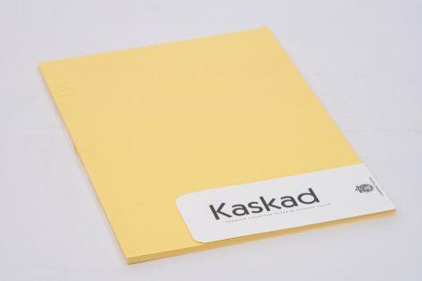 "Karton Kaskad A/4 225gr ""57"" citromsárga 20ív/csg"