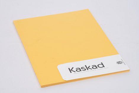 "Karton Kaskad A/4 225gr ""58"" napsárga 20ív/csg"