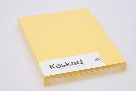 "Karton Kaskad A/4 225gr ""57"" citromsárga 100ív/csg"