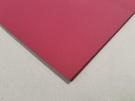 """Dekorációs karton anyagában színezett 50x70cm 220gr """"22"""" bordó 25ív/csg"""