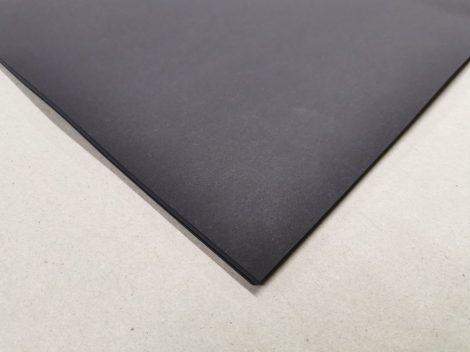 """Dekorációs karton anyagában színezett 50x70cm 220gr """"'90"""" fekete 25ív/csg"""